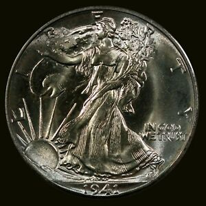 1941-P Walking Liberty Half... Gem Superb Eye Appeal