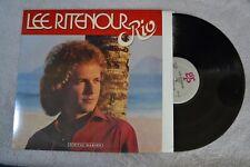 Lee Ritenour Rio Jazz Fusion Rock w/ inner Record Vinyl lp Album