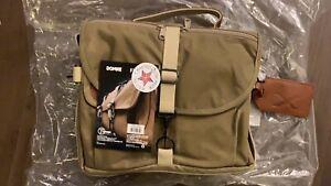 Fujifilm F-803 Camera Satchel Bag, Ruggedwear Canvas, Sand, Medium - By Domke