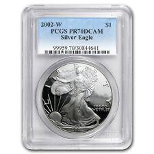 2002-W Proof Silver American Eagle PR-70 PCGS - SKU #23672
