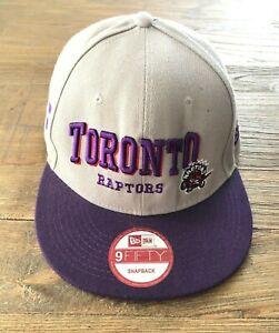 Toronto Raptors Basketball NBA New Era Hardwood Classics Cap Hat One Size