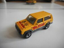 "Matchbox Jeep Cherokee ""Mr Fixes"" in Yellow"