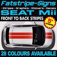 SEAT Mii STRIPES GRAPHICS STICKERS DECALS 1.0 SPORT VINYL CITY CAR RACING VIPER