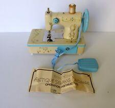 Vintage 1970's Hallmark Betsey Clark Child's Antique Sewing Machine in Box Works