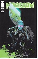 Image Comics HORIZON #15 first printing Walking Dead homage cover