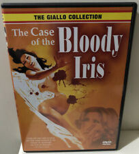 Case of the Bloody Iris [DVD] [Region 1] Rare Deleted Giallo Slasher Horror
