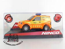 NINCO 50512 MITSUBISHI PAJERO SEM EMERGENCIAS CAR SCALEXTRIC - NUEVO A ESTRENAR