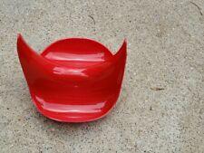 Hutzler Pot Lid Stand & Utensil Spoon Rest RED Kitchen Gadget