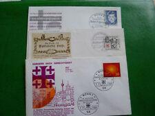 bund1964/69 nr.453+462+595  ersttagsbrief