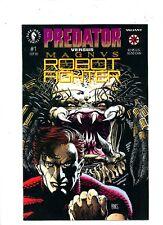 "1992 Dark Horse ""Predator vs Magnus Robot Fighter"" #1 & #2, U-Pick, VF/NM. BX19"