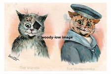 rp02783 - Louis Wain Cats - The Victor & The Vanquished - photo 6x4