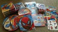 Spider-Man birthday party lot