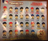 PICK UR FAVORITE TEAM FIGURE 2016 MLB BASEBALL TEENYMATES SERIES 3 CATCHERS