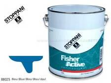 ANTIVEGETATIVA STOPPANI FISHER ACTIVE 2,5 LITRI BLU ANTIFOULING PER BARCA E GOMM