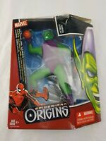 Hasbro Marvel Signature Series Spider-man Origins Green Goblin Figure
