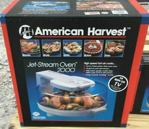 AMERICAN HARVEST Jet-Stream Oven JS2000T High Speed HotAir Convection + EXPANDER