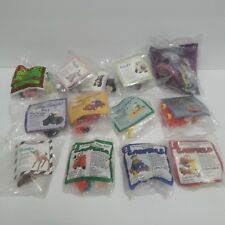 Lot of 13 Vintage Mc Donalds Happy Meal Toys/Burger King Toy Bambi, Garfield