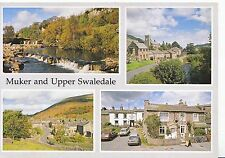 Yorkshire Postcard - Views of Muker and Upper Swaledale   SM99