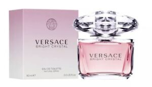 Versace Bright Crystal 3oz Women's Eau de Toilette Brand New In Box Perfume