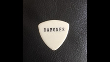 LEGENDARY RAMONES 1982 ORIGINAL Stage Used🎸GUITAR PIC AUTHENTIC! FREE SHIPPING