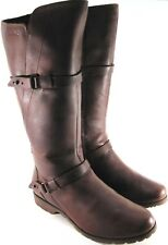 Teva Women Equestrian Riding Hunting Fashion Boots Size 6 Euro 37 Brown.