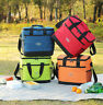 Lunch Box Picnic Bag Tote Cold Insulated Thermal Cooler Travel Work School Hot
