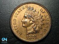 1874 Indian Head Cent Penny  --  MAKE US AN OFFER!  #B4641