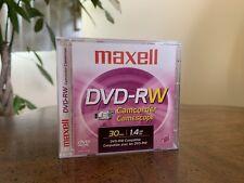 Maxell DVD-RW Camcorder 30min / 1.4gb/Go