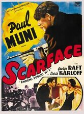 Scarface Reproduction Classic Film Posters