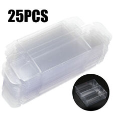 25x 1:64 Clear PVC Protector Display Box Show Case For Diecast Model Toy Car