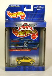 Hot Wheels Final Run Retiring Models Pontiac Salsa