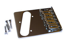 Gotoh Telecaster Tele Style Guitar Bridge • Vintage to Modern • Chrome GTC201