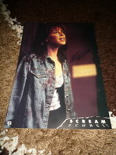 "NEVE CAMPBELL signed Autogramm auf 20x30 cm ""SCREAM"" Aushangfoto InPerson LOOK"