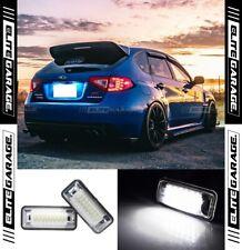 Subaru Impreza Hatchback G3 RS WRX STI - Rear License Plate LEDs Bright 6000K
