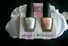 O.P.I Nail Polish Duo with Free Mini Bag, Brand New