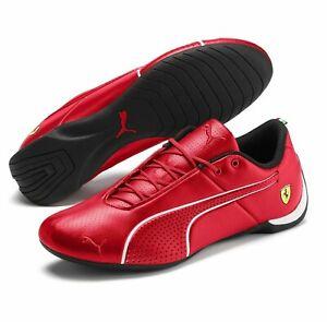 Puma Ferrari Mens Future Cat Ultra Trainers Red Driving Shoes