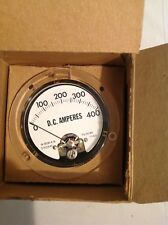 Simpson W-8061A-6 Panel Meter 0-400 DC Amperes