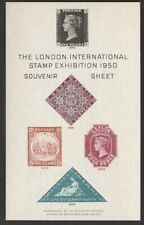 GREAT BRITAIN 1950 INTERNATIONAL STAMP EXHIBITION SOUVENIR SHEET UNMOUNTED MINT.