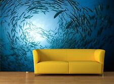 Fish in the ocean 3D Mural Photo Wallpaper Decor Large Paper Wall