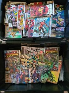 20 COMIC BOX LOT MIX MARVEL DC AND INDIE NO DUPLICATES FINE-NM FREE SHIPPING