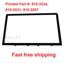"LCD Glass Front Screen Panel for Apple iMac 27""A1312  Late 2009 Mid 2010 Genuine"