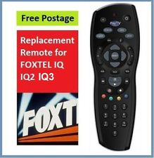 New Foxtel Remote Replacement for the Foxtel IQ Remote Control Black colour*