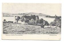 Vintage postcard Portora Castle, Enniskillen, Fermanagh, Ireland.  pmk 1903