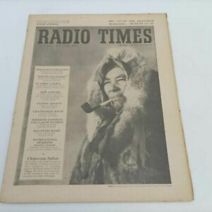 BBC Vintage Radio Times Aug. 13th, 1954 [Ex] Martin Chuzzlewit | Chipewyan In...