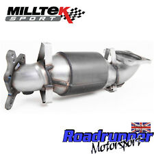 "Milltek Honda Civic Type R FK8 Sports Cat Exhaust 3"" Cast Downpipe HJS SSXHO238"