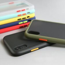 For iPhone 6/ 6s/ 7/ 8 Plus XR XS Hard Case Cover Back Bumper Shockproof Apple