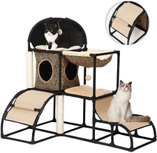 New listing Cat Tree for Large Cats Super Stable Cat Furniture with Scratching Posts Hammock