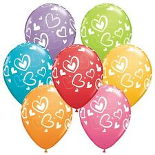 Party Supplies Wedding Birthday Love Hearts Mix & Match 28 cm  Balloons Pk10