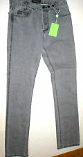 New NWT Mens Slim Paris Designer Surface to Air Gray Jeans 31 X 34 Tall S2A