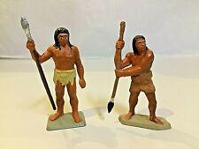 STARLUX PREHISTOIRE 2 chasseurs avec lances TBE